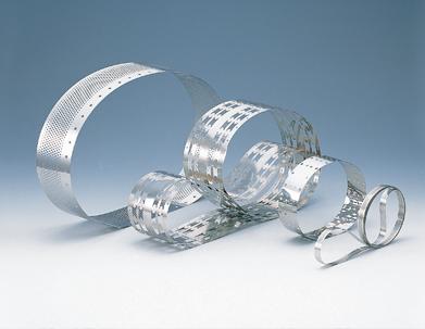 Stahlband gelocht